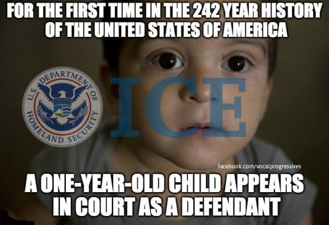 one-year-old defendant