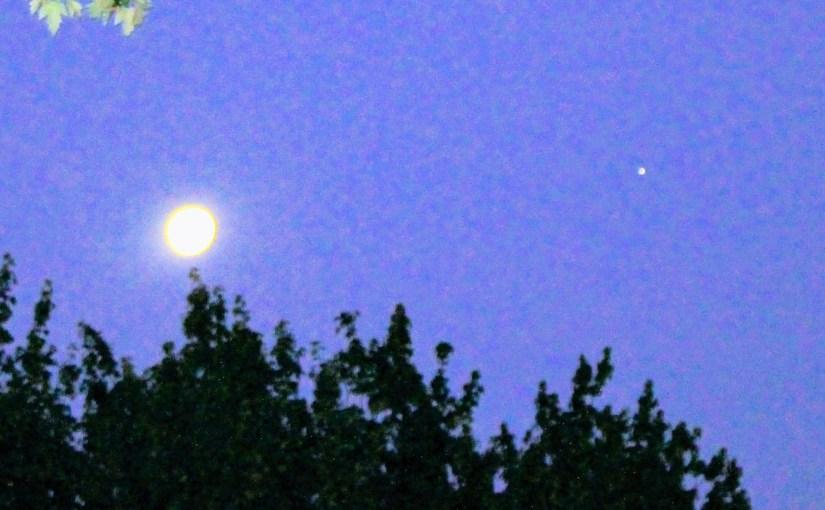 By Jupiter's Moon